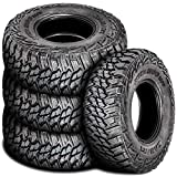 Set of 4 (FOUR) Kanati Mud Hog M/T Mud Tires - LT315/75R16 121/118Q D (8 Ply)
