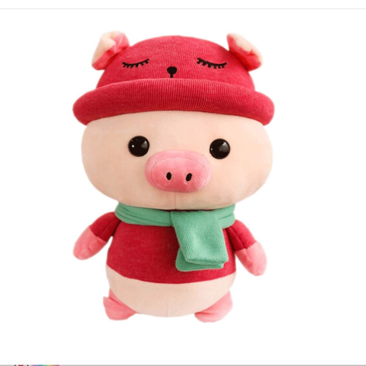 Red 35cm Red 35cm Plush Toys, Cute Plush Toy Pigs, Doll Sleeping Pillows, Birthday Gifts Festival Gifts, Pig Year Mascots, Annual Gifts, Multiple colors and Sizes, Best Gifts (color   Red, Size   35cm)
