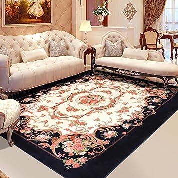 Amazon.de: L&Y Teppich Europäische Wohnzimmer Teppich amerikanisches ...
