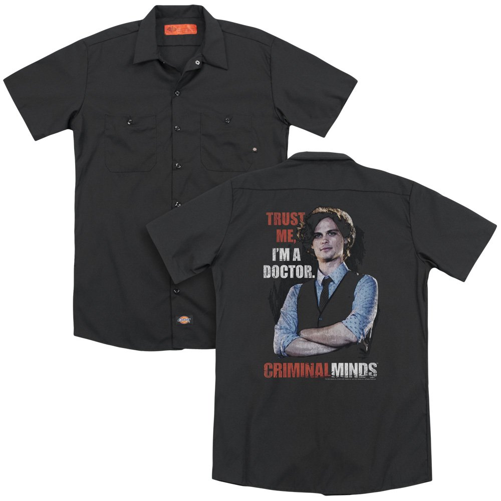 Criminal Minds Trust Me Adult Work Shirt