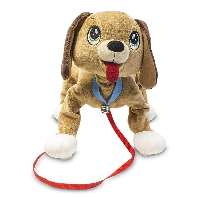 Peppy Pup - Peluche Perrito Camina Contigo (Giochi Preziosi PEP00300): Amazon.es: Juguetes y juegos
