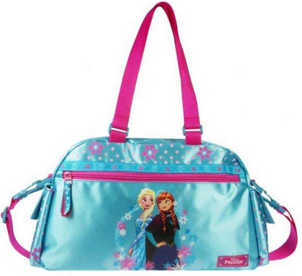 1d20f02b9e835 Disney Frozen Eiskönigin Sporttasche Schultertasche Umhängetasche Tasche  blau pi Film   Fernsehen