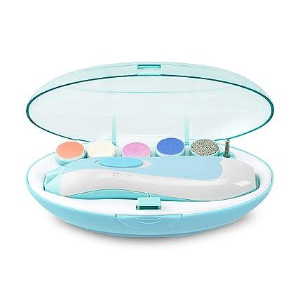 Bebé Lima de uñas, portátil versátil seguro Cortauñas para bebés recién nacidos o para los dedos de los pies y las uñas fácil de usar con un ...