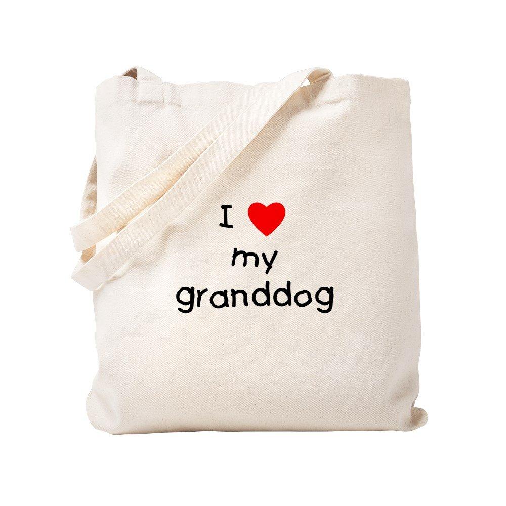 春新作の CafePress – I Love S My Granddogトートバッグ – ベージュ ナチュラルキャンバストートバッグ B0773Q75FF、布ショッピングバッグ S ベージュ 0089365590DECC2 B0773Q75FF S, GoodsDepot:01380885 --- 4x4.lt