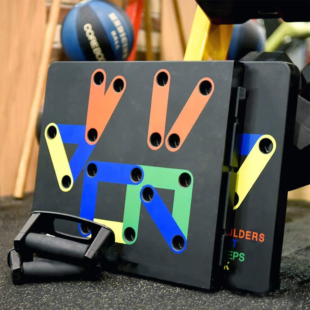 Fitness Workout Gym Home Exercise Push up Board Complete Push Up Training System,Strength /& Conditioning Stands