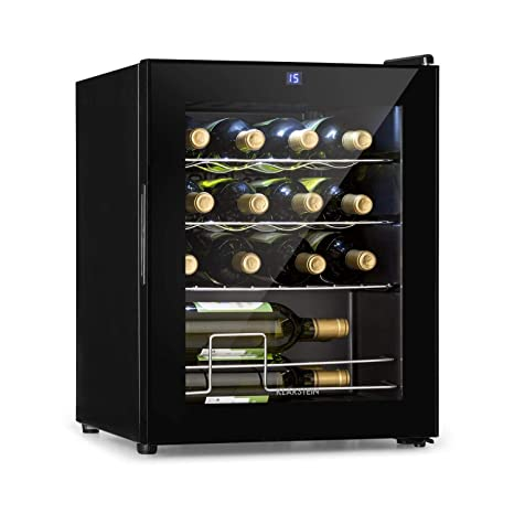 Klarstein Shiraz - Nevera de vino (42 L) Negro: Amazon.es: Grandes ...