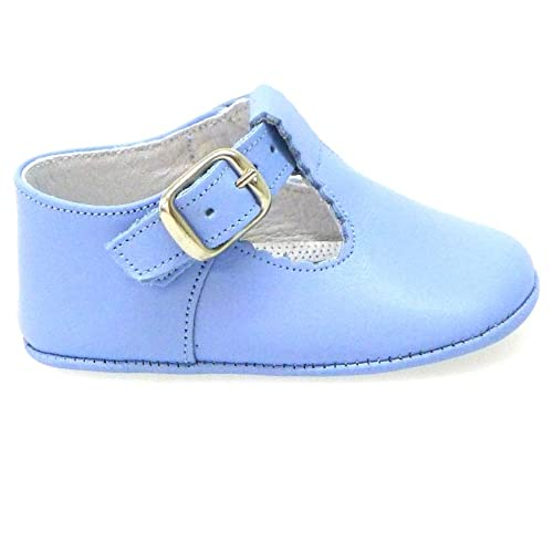 Zapatos Bebé Cuna Ingleses Pepitos Cr103 Azafata: Amazon.es ...