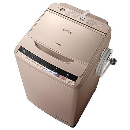 日立 全自動洗濯機 ビートウォッシュ 10kg シャンパン BW-V100B N