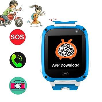 Niños zeerkeer teléfono Smartwatch Niños Reloj Correa con ...