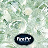 Cheap Arctic Ice – Fire Glass Diamonds for Indoor and Outdoor Fire Pits or Fireplaces | 10 Pounds | 1 Inch