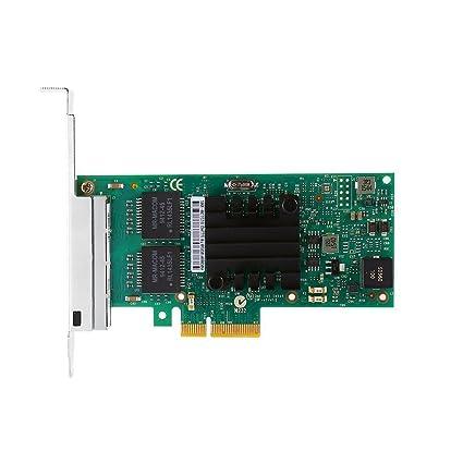 Intel I350-T4 PCI-Express PCI-E Four RJ45 Gigabit Ports Server Adapter NIC  (1 Pack)
