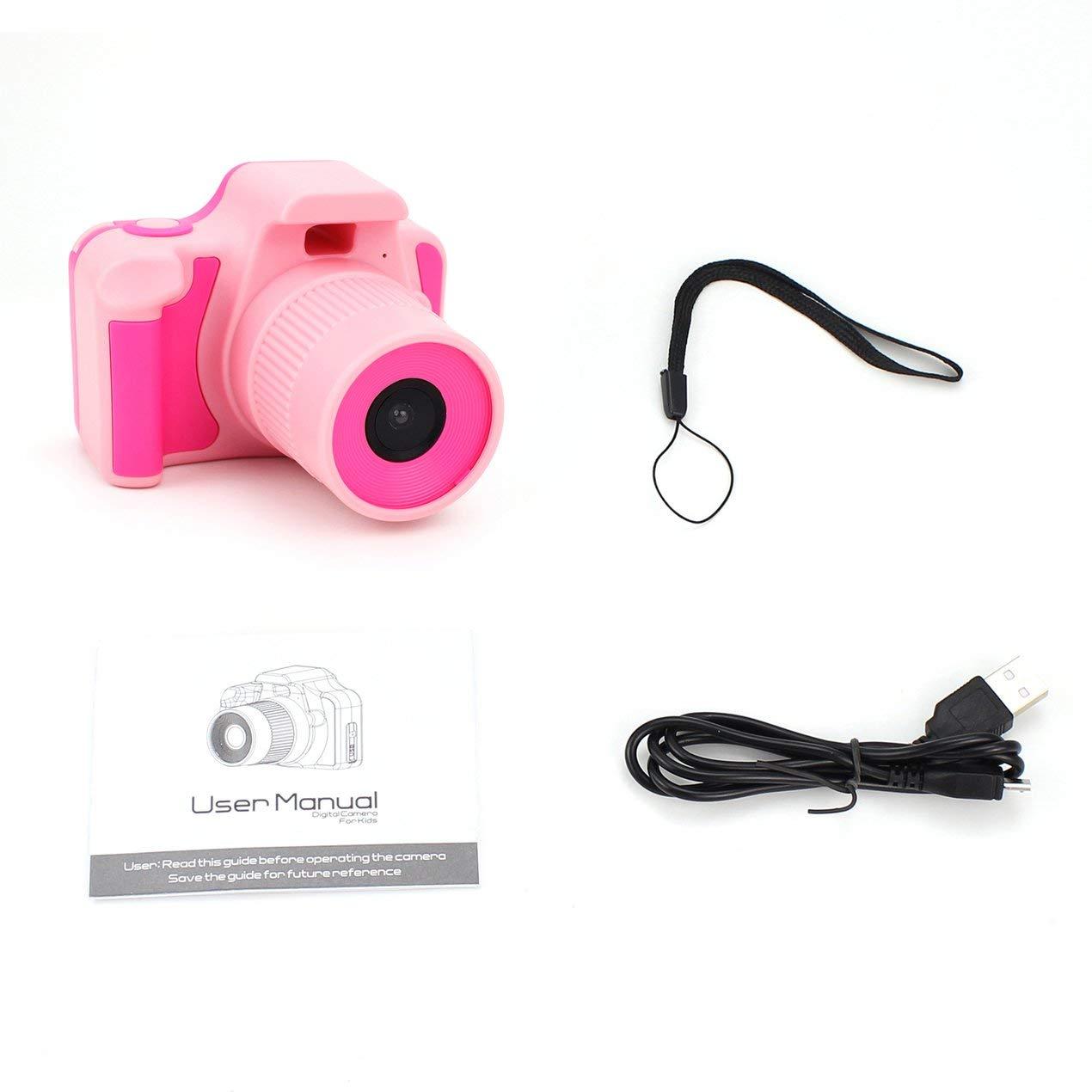 Videocamera Full HD 1080P D10 Digital schermo LCD da 2 pollici bambini Mini DV Dooret