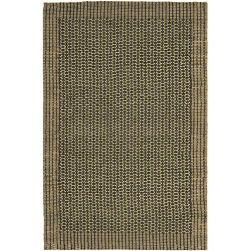 Safavieh Natural Fiber Collection NF451B Charcoal and Green Sisal Area Rug (3