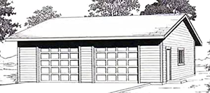 Amazon.com: Garage Plans: Oversized Two Car Garage With Eave Entry on two story plans, two car barn, homemade car plans, pedal car frame plans, breakfast bar plans, two car home designs, wet bar plans, 20 x 20 home plans, privacy fence plans, two car carport plans, breakfast nook plans, two car carriage house, two stall garage kits menards, driveway plans, two bedrooms plans, study plans, porch plans, 2 car carport building plans, bonus room plans, carport addition plans,