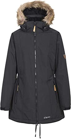 Trespass Womens Celebrity Warm Waterproof Jacket With Removable Hood