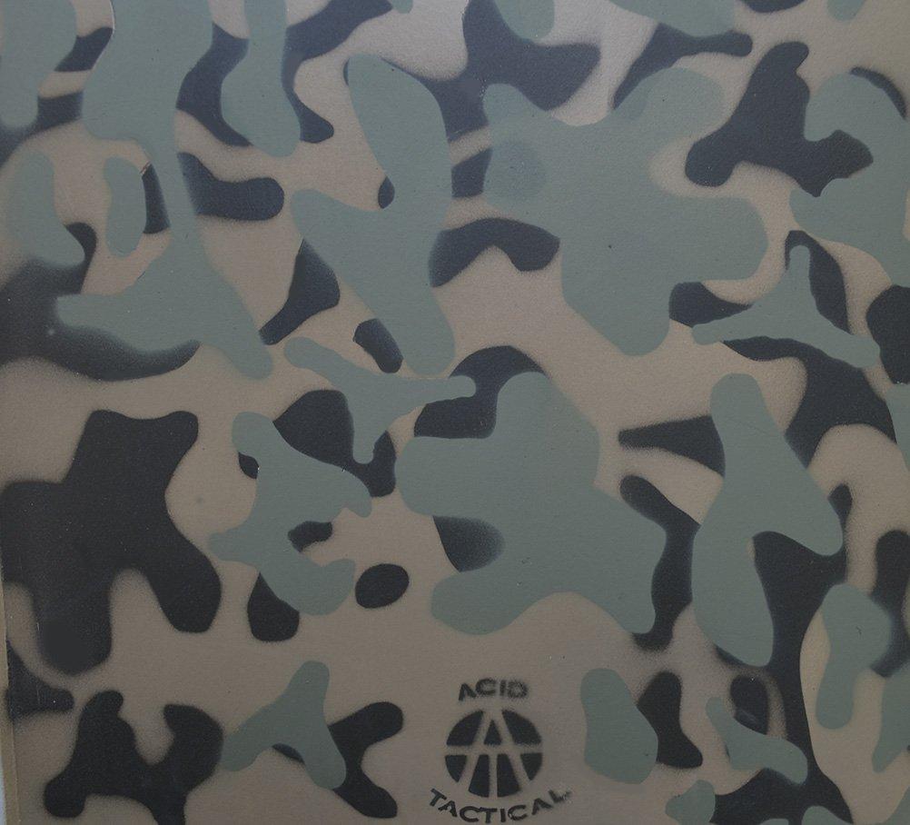 Ácido táctica ®, 3 unidades - 23 cm x 35 cm, diseño de camuflaje ...