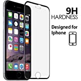 Pellicola Vetro temperato per iPhone 6 / 6S / 7/8 Ultra Resistente 6D Spessore 0,33 mm Protezione Massima 9H Contro Urti Super Trasparenza in HD
