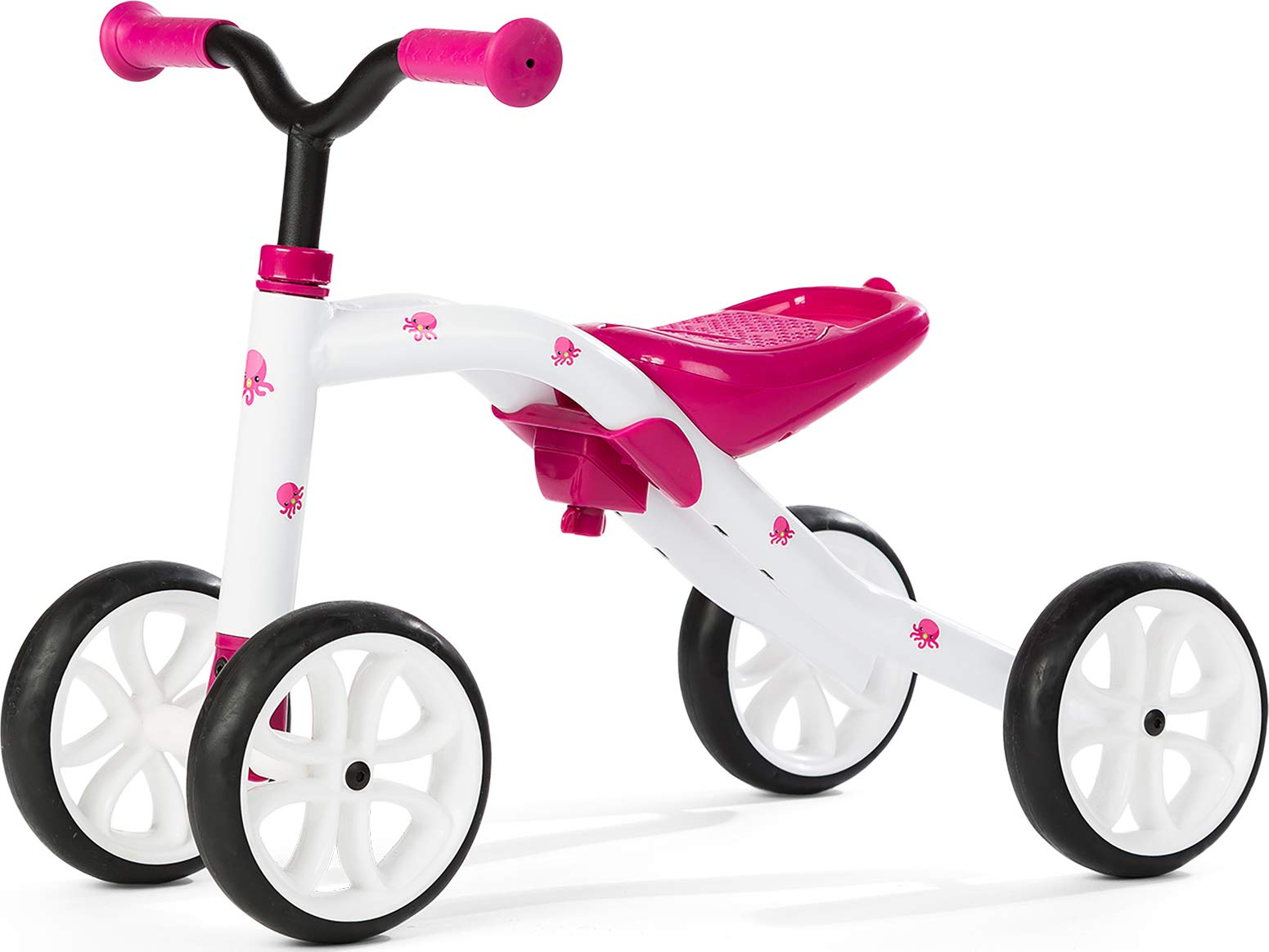 Chillafish QUADIE: 4-Wheeler ''Grow-with-Me'' Ride-On Quad, Pink