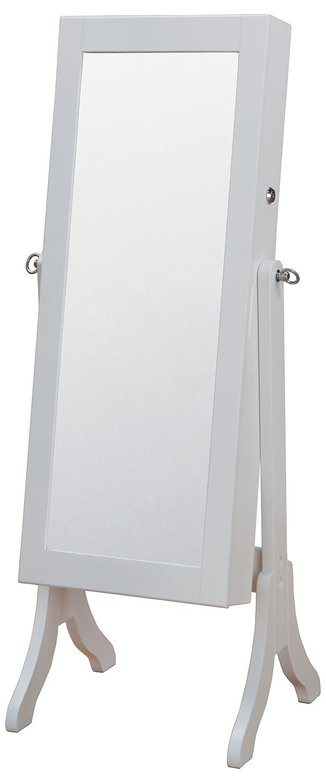 インテリアジュエリー収納ミラーロータイプ ホワイト OSK-ST108(WH) B006W0ZXRC ロータイプ|ホワイト ホワイト ロータイプ