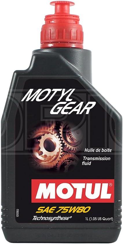 Motul Motyl Gear SAE 75w-80 - Aceite para caja de cambios de coche ...