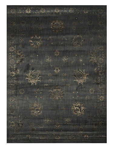 Rug Mystique Charcoal (Loloi Mystique MY-03 Polypropylene/Viscose 9-Feet 8-Inch by 12-Feet 8-Inch Area Rug, Charcoal)