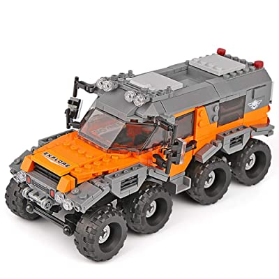 Actcute 466 Piezas Technic Series Creative Moc RC Wild Off-Road Vehicles Modelo Building Blocks Ladrillos SUV Juguetes para niños Regalos: Juguetes y juegos