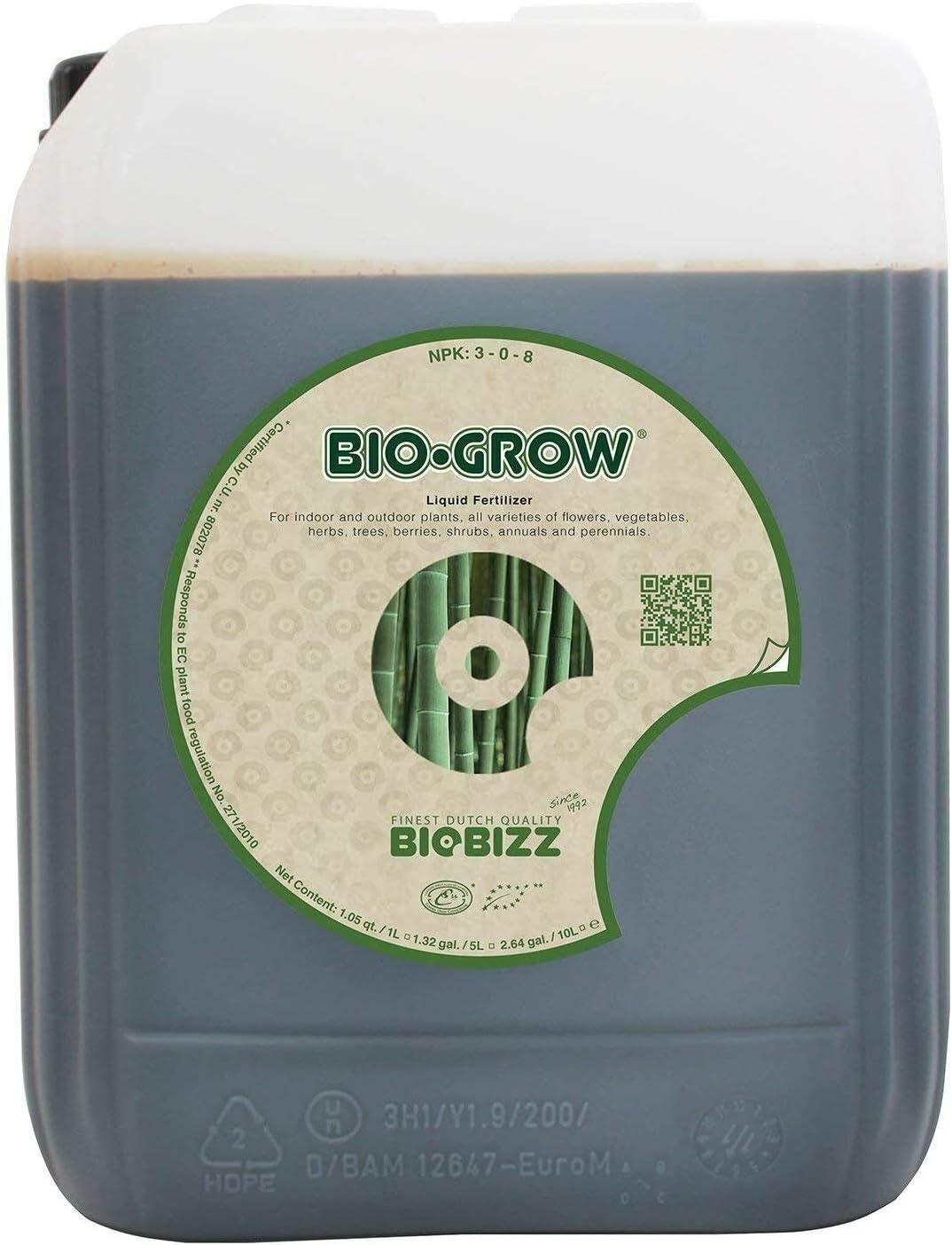 BioBizz 1 Bio-Grow 20 Liter Liquid Organic Plant Food