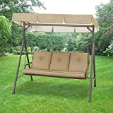 Garden Winds OPEN BOX – Replacement Canopy Top Cover for Walmart Madison Swing – 350