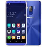 BLUBOO S8 5.7 Inch HD+ 18:9 Aspect Ratio OTA Android OS 7.0 MT6750T Octa Core 3GB+32GB 16MP Dual Rear Sony Cameras 3450mAh Fingerprint ID (Blue)