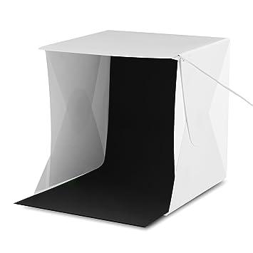 Amzdeal Photo Light Tent 24*24cm Mini Photography Shooting Tents Foldable LED Light Box Photography  sc 1 st  Amazon UK & Amzdeal Photo Light Tent 24*24cm Mini Photography: Amazon.co.uk ...
