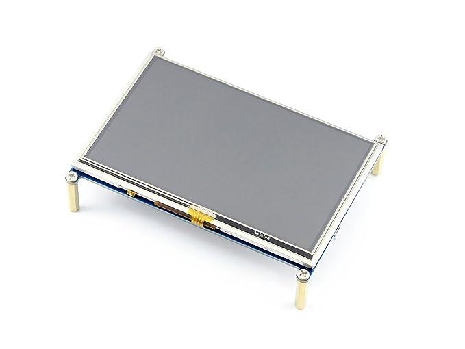 8 opinioni per Makibes 5 Inch HDMI LCD(A) 800x480 High Resolution for Raspberry Pi 2 Model B /