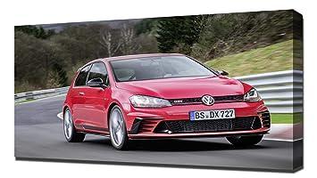 2017 Volkswagen Golf GTI Clubsport S V6 - Reproducción Lienzo ...