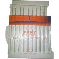 VARDHMAN Pony CROCHETS Hooks Set of 10 (2MM, 2.25MM, 2.50MM, 2.50MM, 3MM, 3.25MM, 3.50MM, 4MM, 4.50MM, 4.50MM) 6-14/G [13 cm]