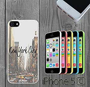 New York City Quote Hipster Custom made Case/Cover/skin FOR iphone 6 4.7 - White - Rubber Case