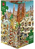 Barcelona - Puzzle de 1500 piezas (Heye Verlag)