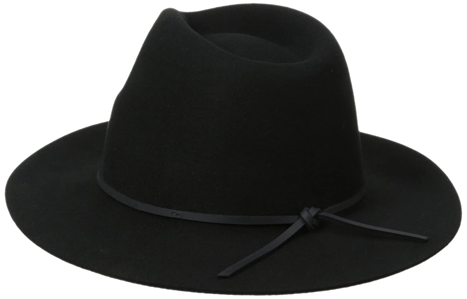 7a5e5385432 Brixton Men s Wesley Fedora Hat Navy  Amazon.ca  Clothing   Accessories