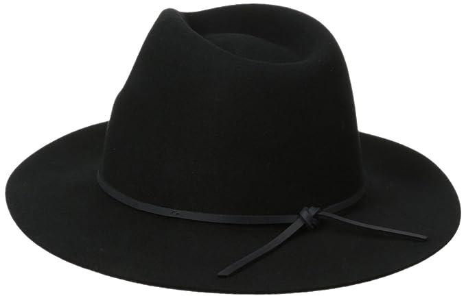11217823b7b16 Amazon.com  Brixton Men s Wesley Fedora Hat  Clothing