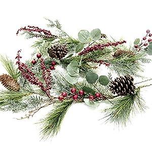 CraftMore Brighton Pine Christmas Garland 72 Inch