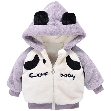 Amazon Com Kaicran Toddler Baby Boys Girls Panda Thick Coat Cute
