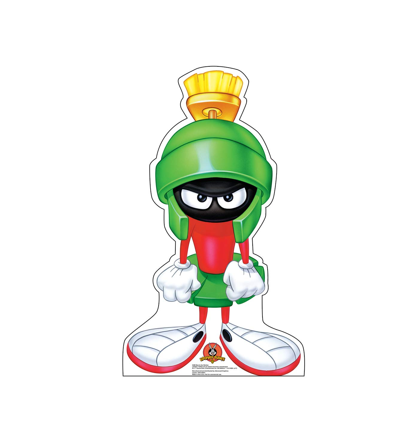 Advanced Graphics Marvin The Martian Life Size Cardboard Cutout Standup - Looney Tunes