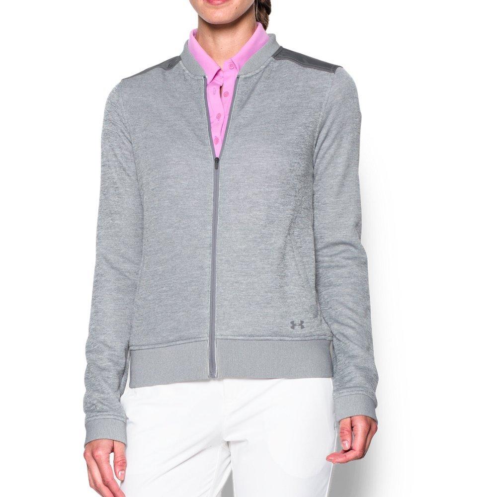 Under Armour UA Storm SweaterFleece Full Zip Bomber XS True Gray Heather
