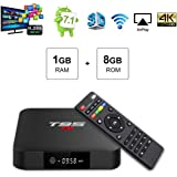 Amazon com: TUREWELL Android 7 1 TV Box, T95 S2 Android Box 2GB RAM
