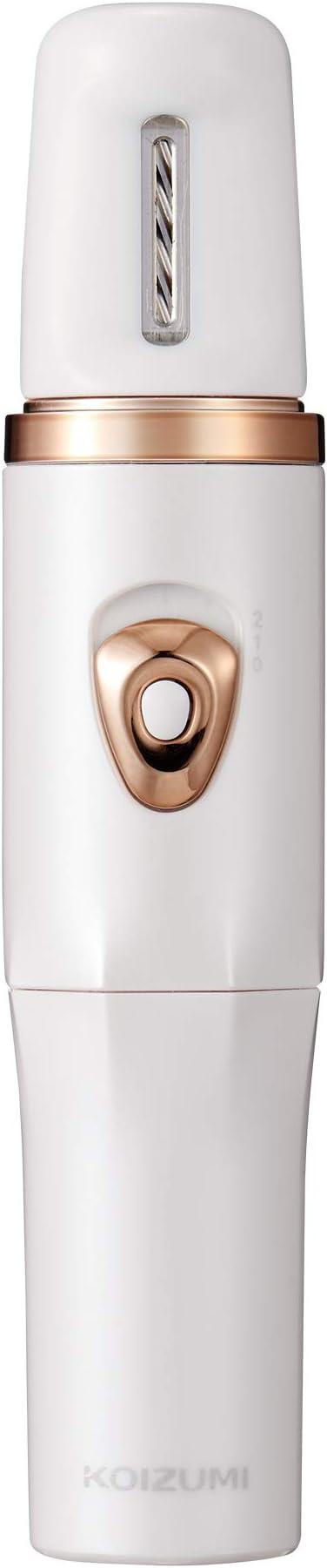 コイズミ 電動爪切り 2段階スピード切換え ホワイト KLC-0590/W