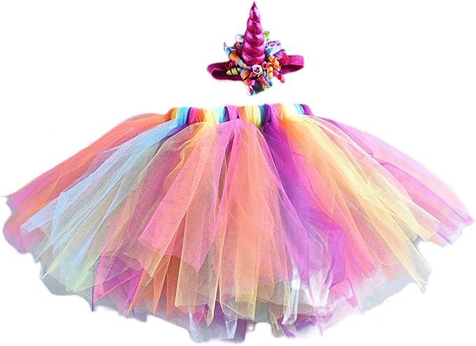 Jmitha Unicorno Cosplay Costumi Fasce Festa per bambini Cerchietti per Capelli con unicorno a spirale Fascia per Capelli Bambino Fotografia Prop Accessori dei capelli A