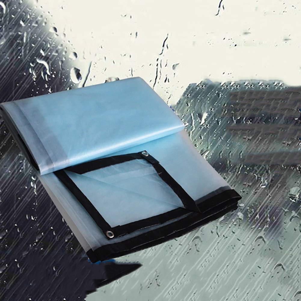 CAOYU Imprägniern Sie Transparente Plane-Schwerlastplane, die Wasserdichtes Bodenbelag-Tuchhallenzelt Bodenbelag-Tuchhallenzelt Bodenbelag-Tuchhallenzelt des Regens gepolstert wurde B07JGPR2ZG Abspannseile Verpackungsvielfalt b87eea