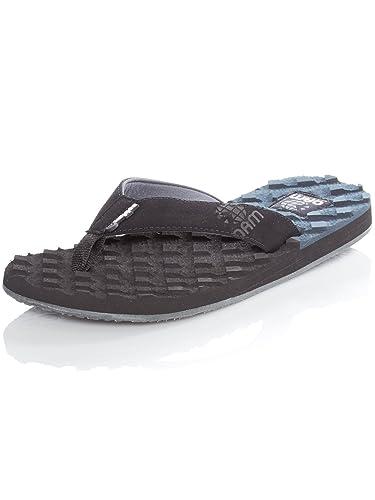 dfde856f4da4 cobian Black OAM Traction Flip Flop  Amazon.co.uk  Shoes   Bags