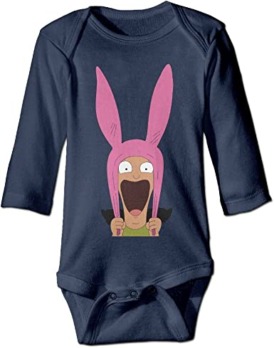 Baby Infant Romper Carrot Long Sleeve Playsuit Outfits Navy