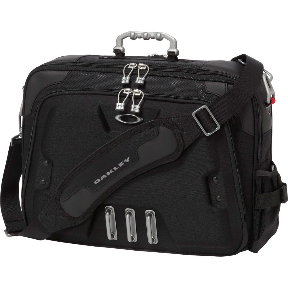 Oakley Mens Home Office Briefcase, Black, One Size