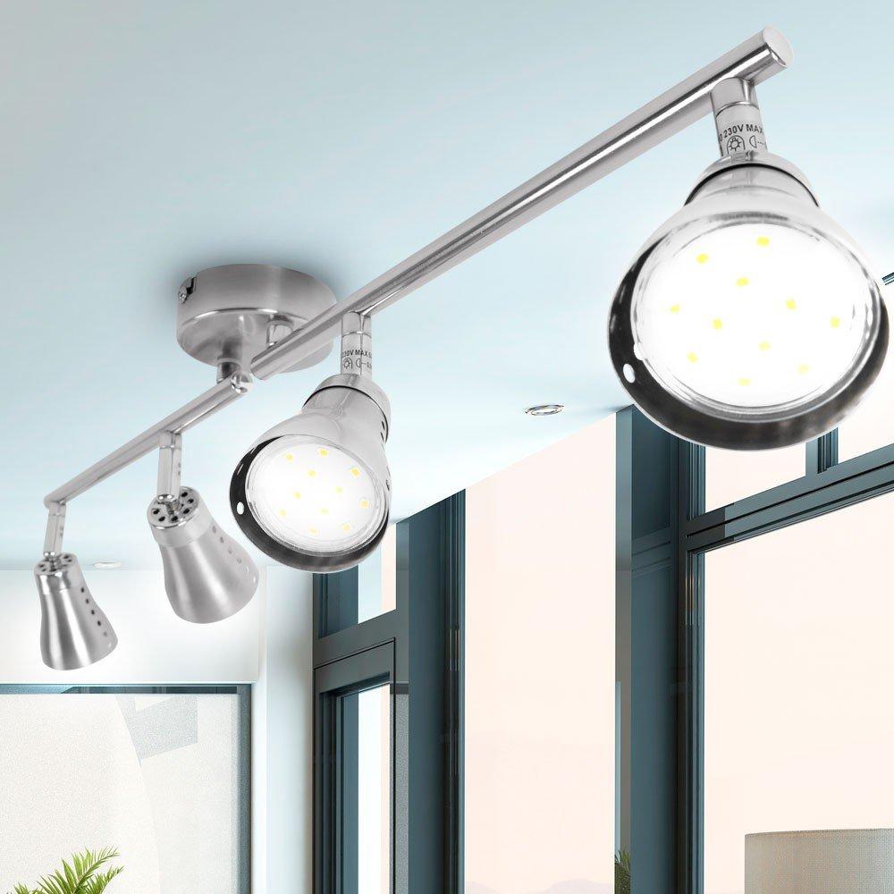 LED Design Wand Leuchte Haus Flur Decken Strahler bewegliche Küchen Spot Lampe