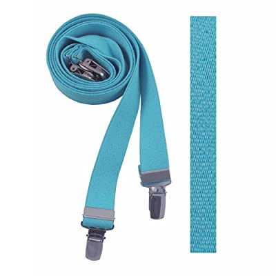 Absolute Stores Childrens Sky Blue Solid Suspenders